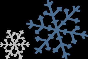 300x201 Falling Snowflake Clipart