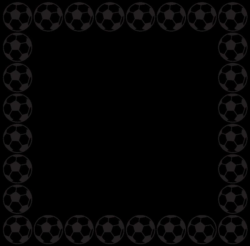 800x789 Free Clipart Football Border Aungkarns