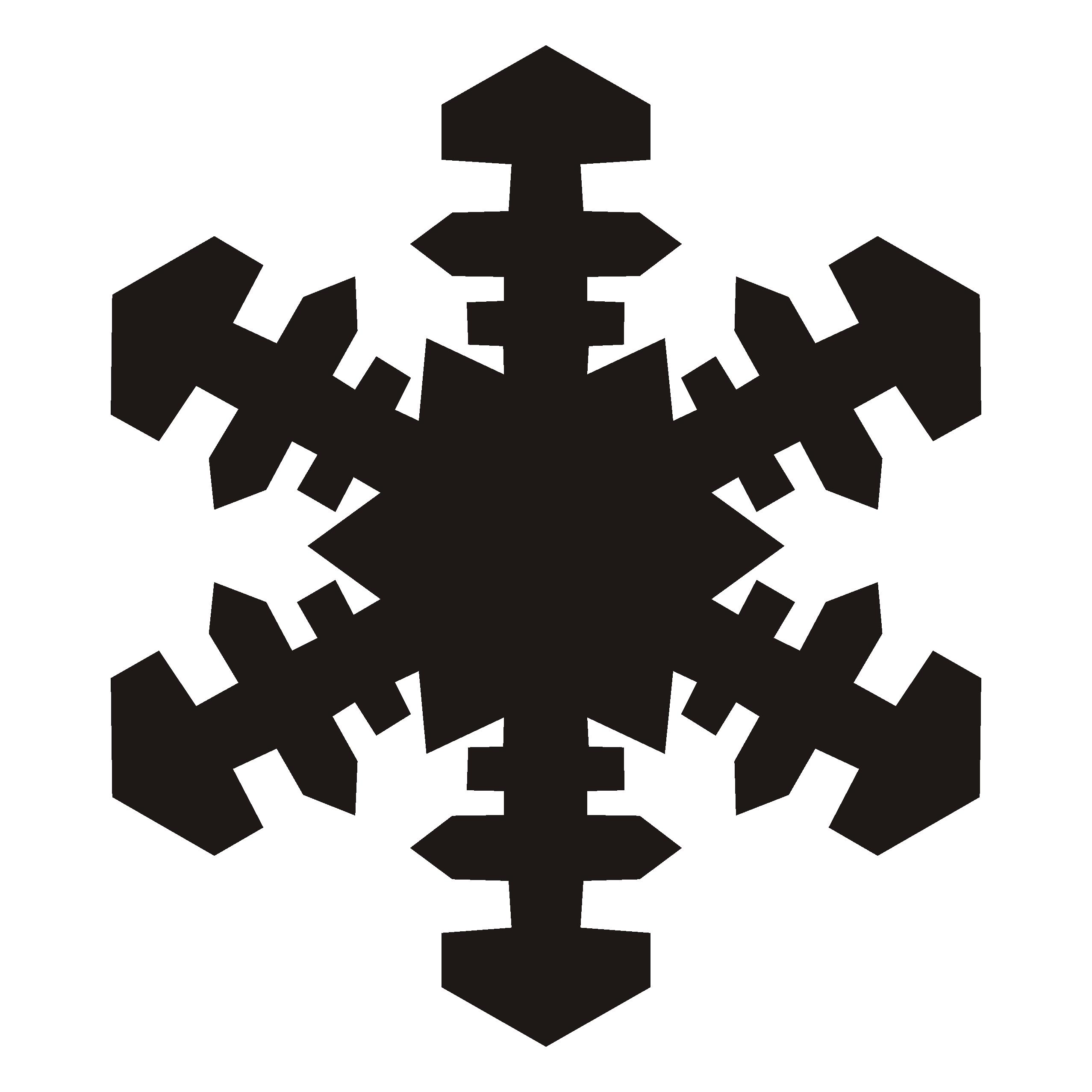 2555x2555 Top 63 Snowflake Clip Art