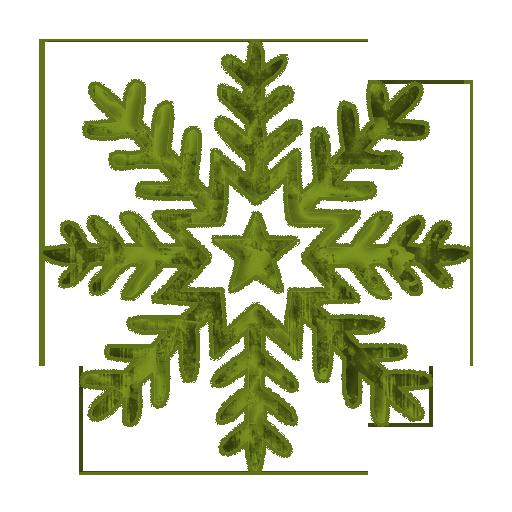512x512 Snowflake Free Clip Art