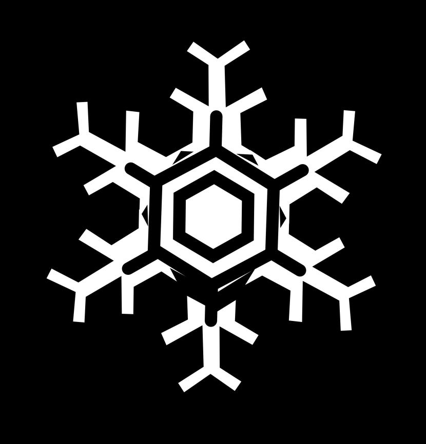 830x866 Free Snowflake Clipart Public Domain Snowflake Clip Art Images 4