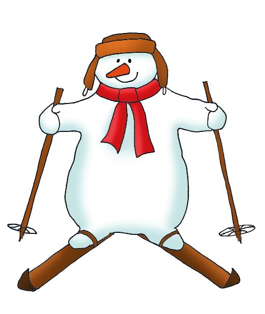 521x619 Snowman Clipart