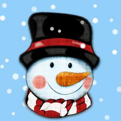 250x250 Free Snowman Clipart Image Psddude