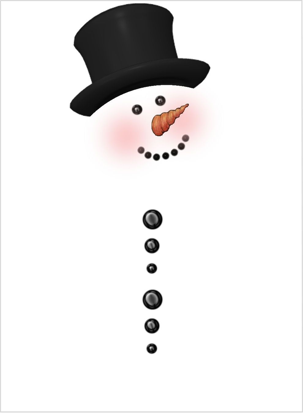 990x1350 Printables Free Printable, Snowman And Free