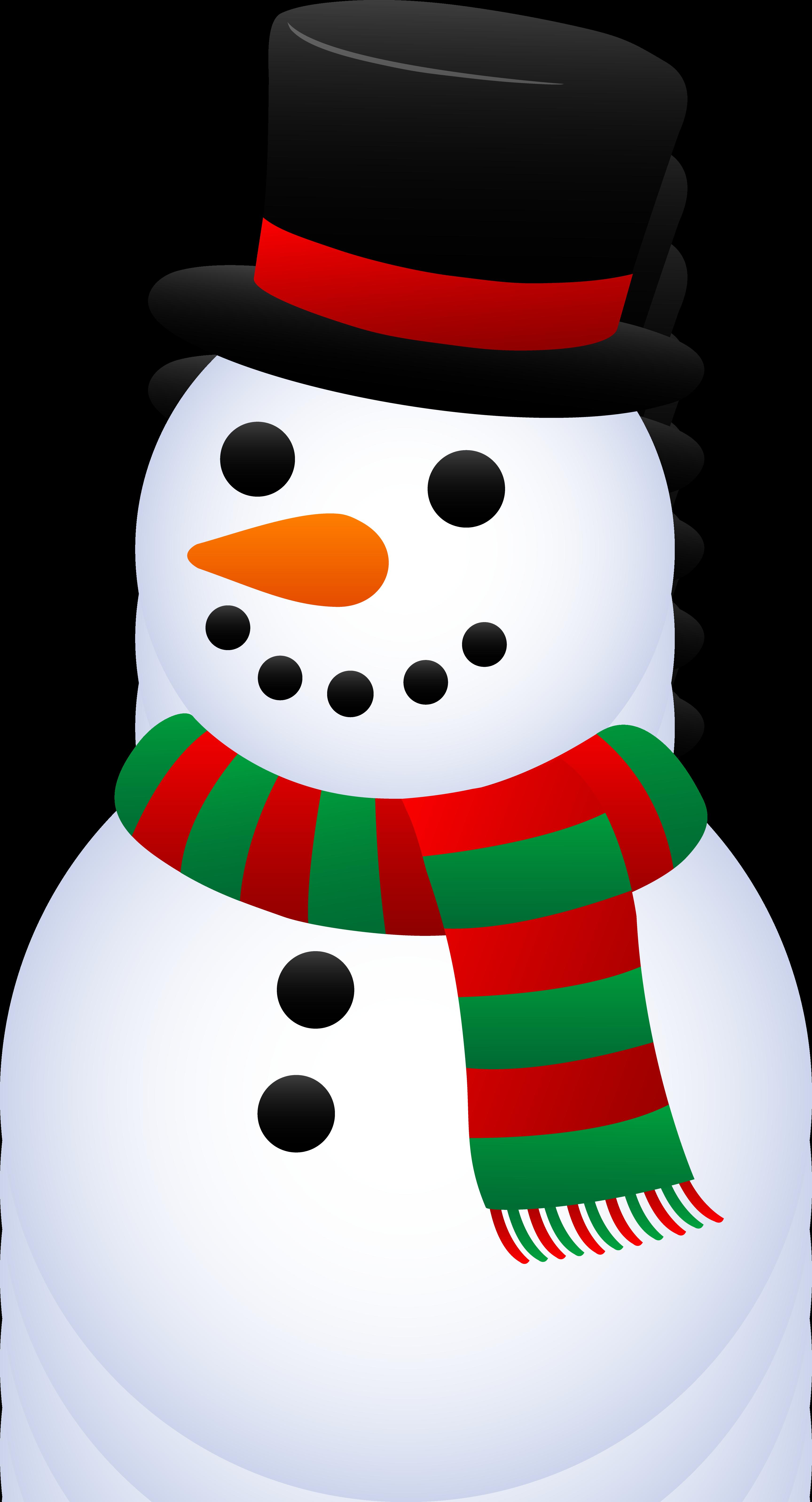 3455x6386 Winter Snowman Clip Art Clipart Panda