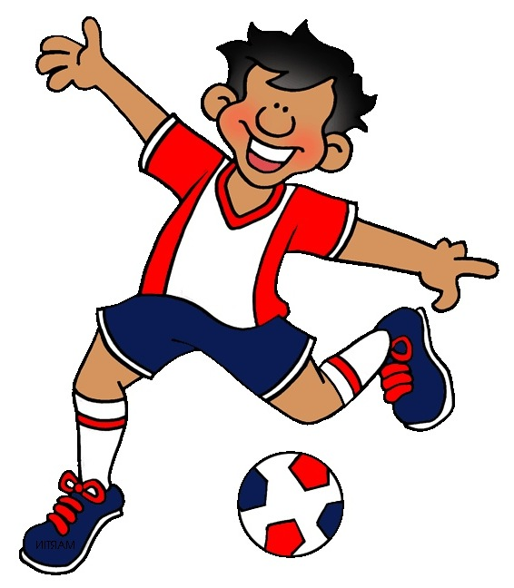 566x648 Soccer Players Clipart