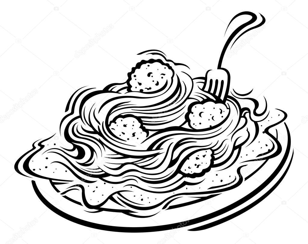 1023x812 Free Spaghetti Cliparts Download Clip Art