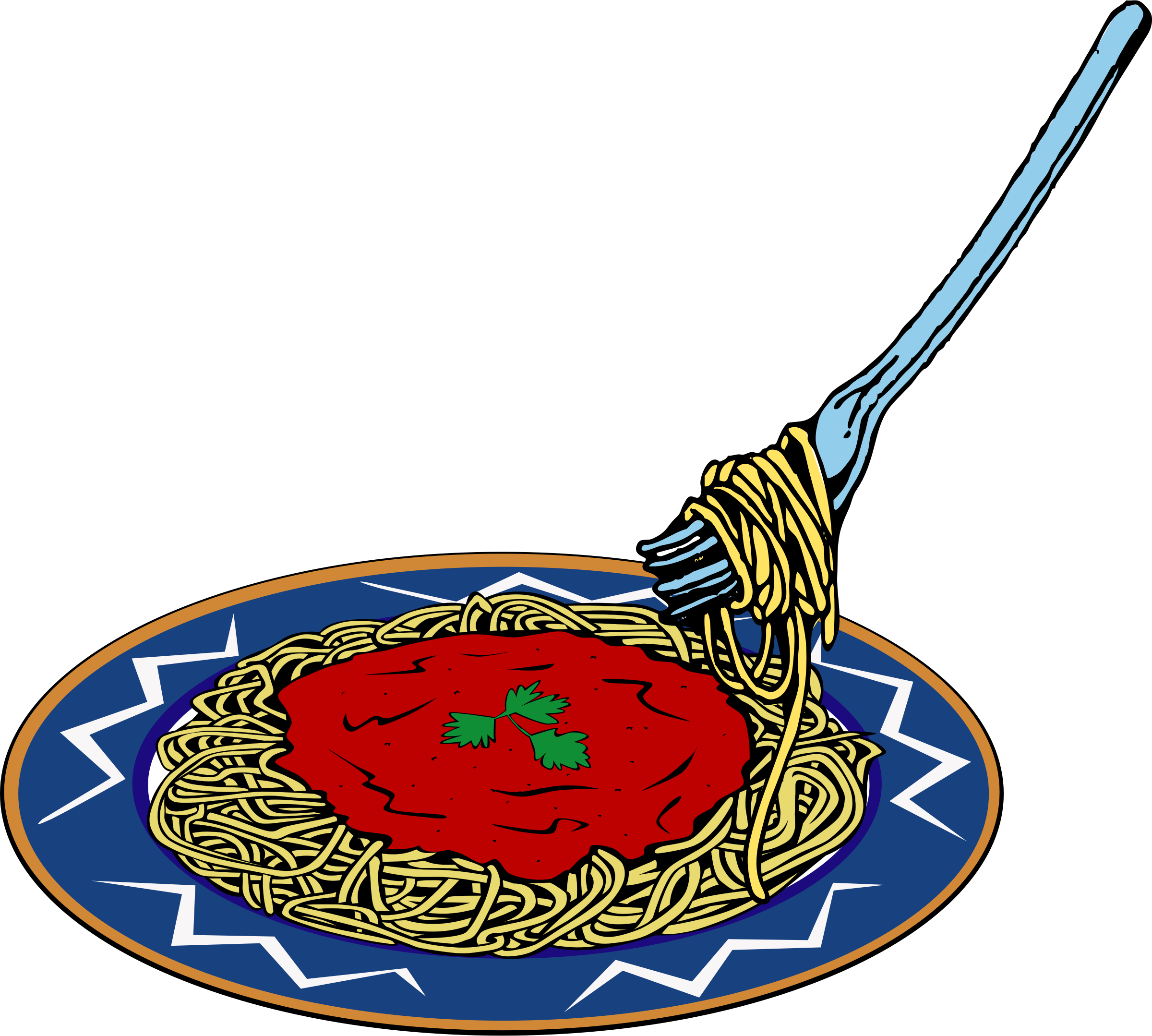 2400x2158 Best Spaghetti Clipart