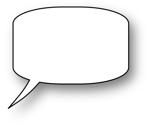 Free Speech Bubble Clipart