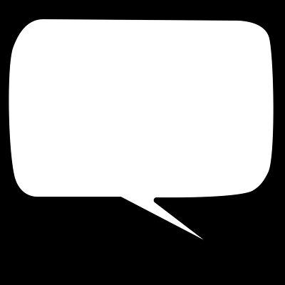 400x400 Simple Speech Bubble Clipart Free Speech Bubbles Clip Art Clipart