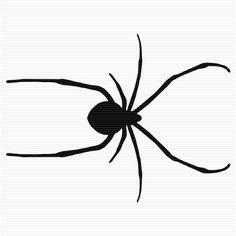 236x236 Black Widow Spider Clip Art Art Graphics