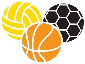 300x226 Sports Balls Clip Art