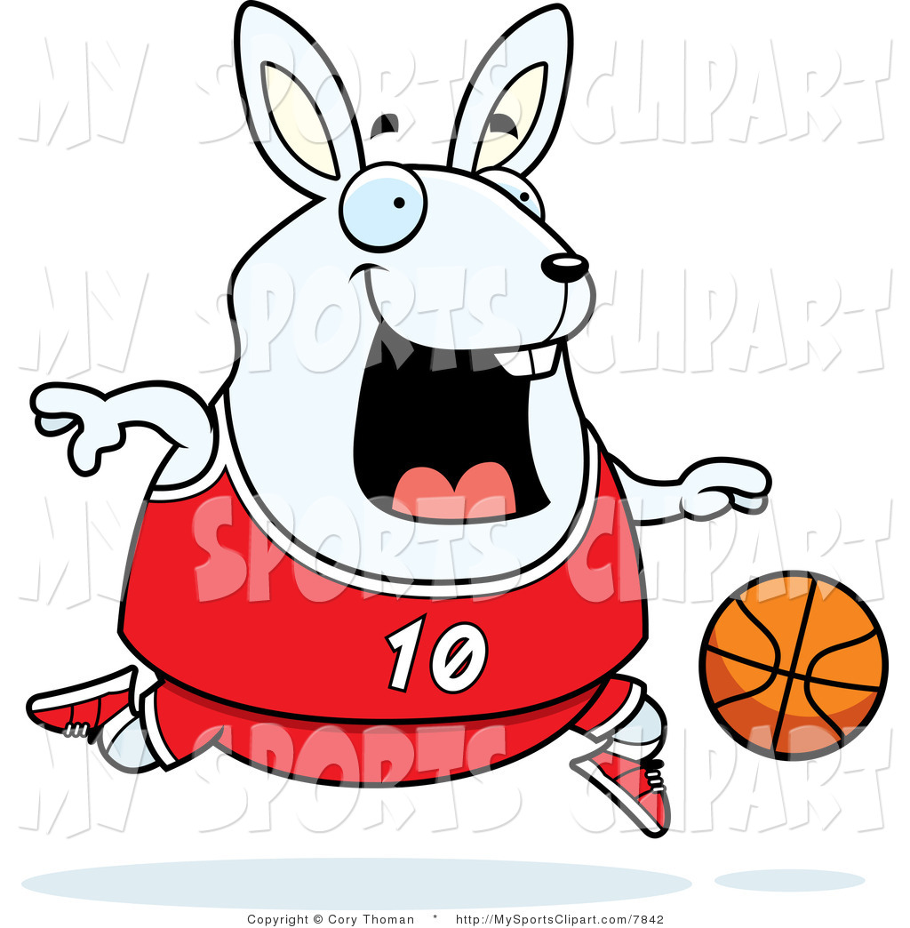 1024x1044 Sports Clip Art Of A Rabbit Playing Basketball By Cory Thoman