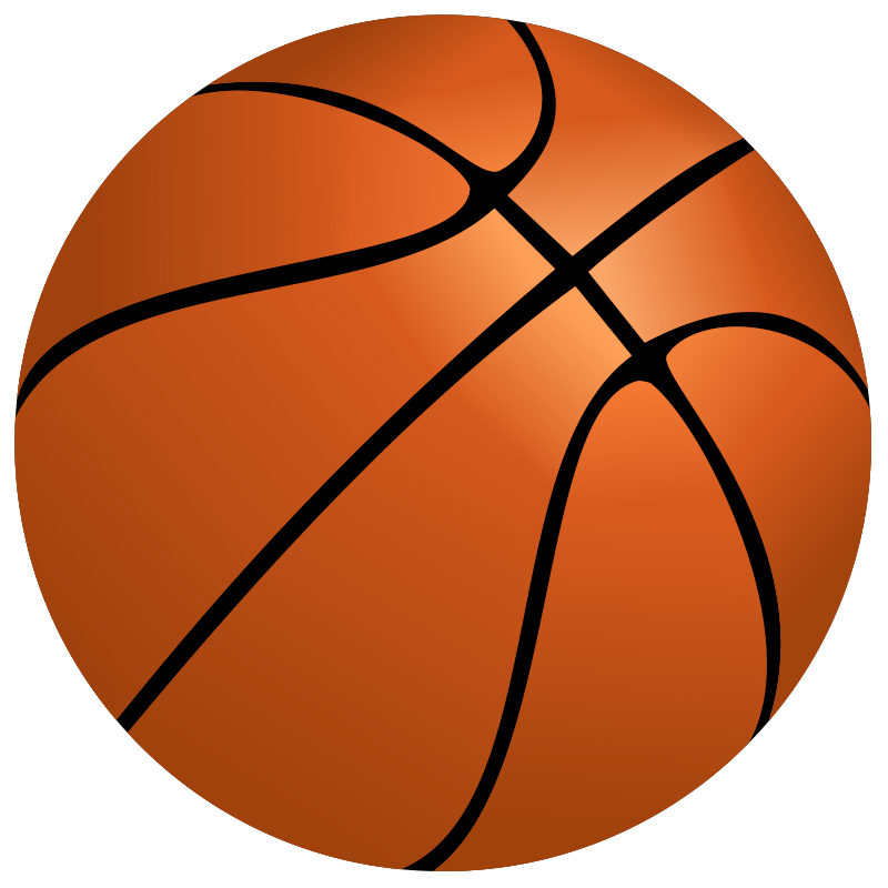 800x800 Basketball Clipart Free Sports Images Org