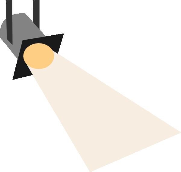 600x569 Free Spotlight Clipart Image