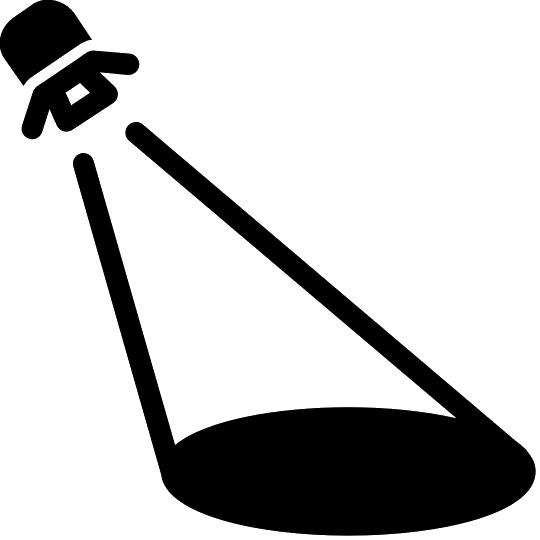 540x540 Spotlight Filled Icon