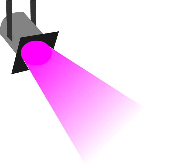 600x568 Free Spotlight Clipart