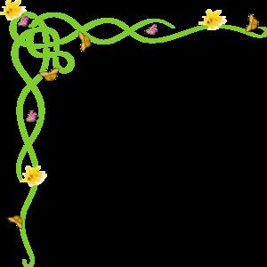 300x300 Border Yellow Clip Art