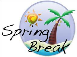 255x191 Free Spring Break Clipart