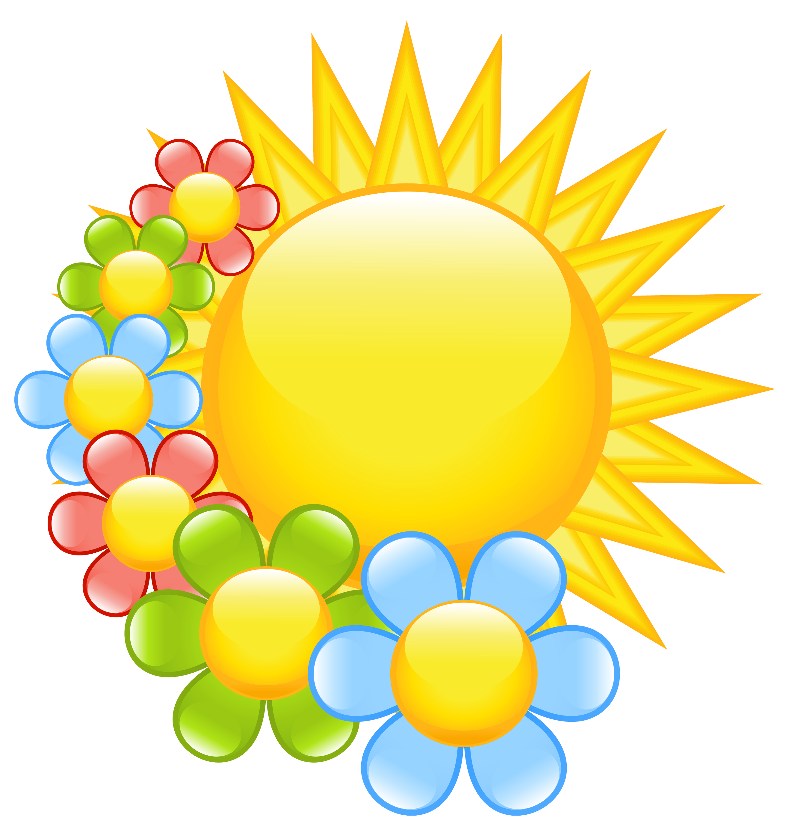 2624x2769 Free Spring Flower Clip Art Cliparts