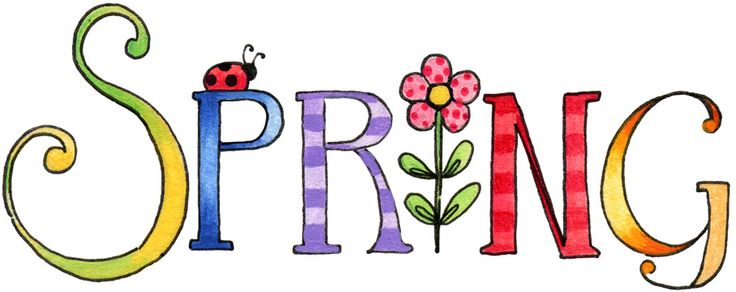 736x292 April Spring Is Here Clipart Free Images 2