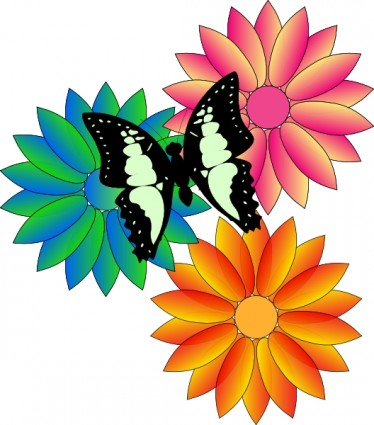 374x425 Clipart Flower Free Spring