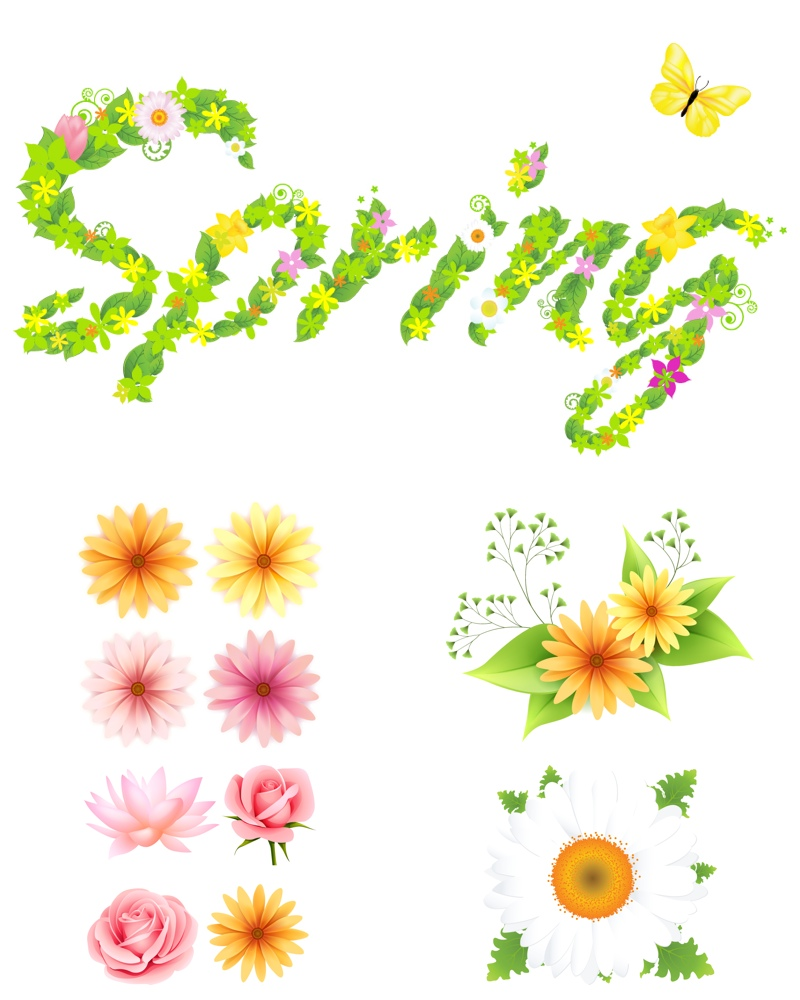 Free spring flower clipart free download best free spring flower 800x1000 floral clipart spring flower mightylinksfo