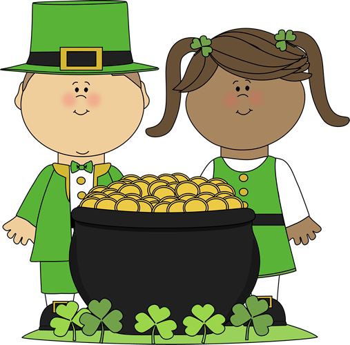 507x500 Saint Patrick's Day Kids Clip Art