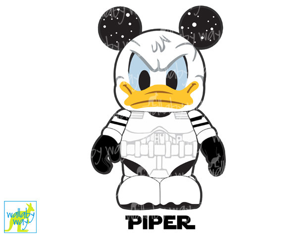 600x480 Donald Duck Stormtrooper Mickey Star Wars Disney Printable Iron