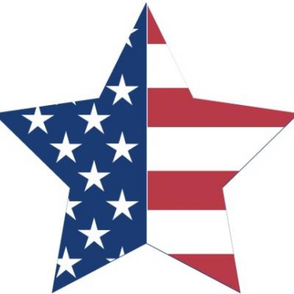 1024x1024 4th Of July Stars Clip Art 2016 4th Of July Star Clipart Free