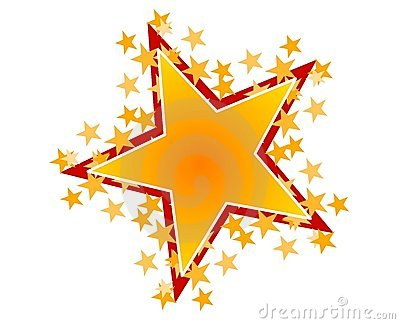 400x324 Shooting Stars Clipart 4 Image