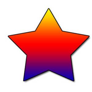 300x300 Stars Clipart Star Shape