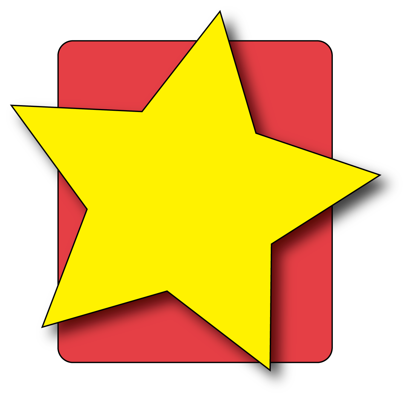 1369x1336 Star Clip Art