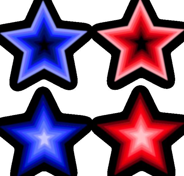600x574 Four Stars Clip Art Free Vector 4vector