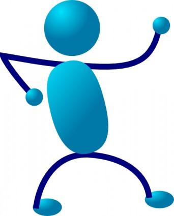 342x425 Stick Figure Running Stick Man Clip Art Free Vector In Open Office