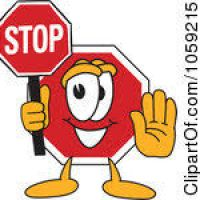 200x200 Stop Clipart Free