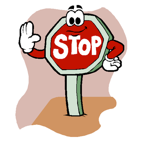 481x481 Stop Sign Clip Art Free Tumundografico