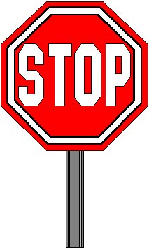 213x356 Stop Signs Clip Art Free Clipart