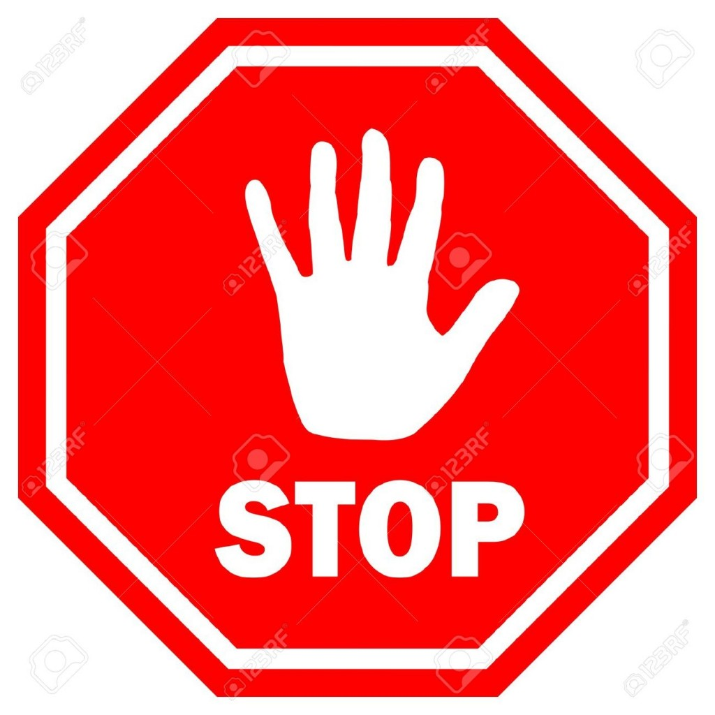 1024x1024 Free Stop Sign Clip Art