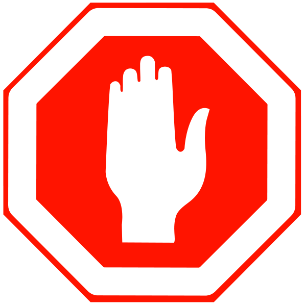 597x600 Free Stop Sign Clip Art