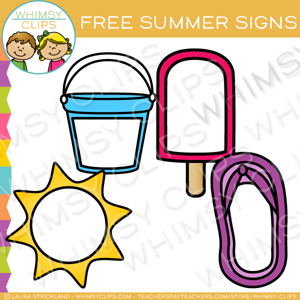 600x600 Free Summer Clip Art , Images Amp Illustrations Whimsy Clips