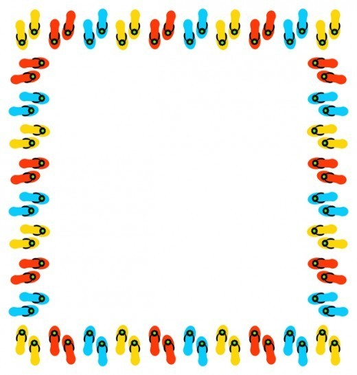 520x546 Summer Border Clip Art Many Interesting Cliparts