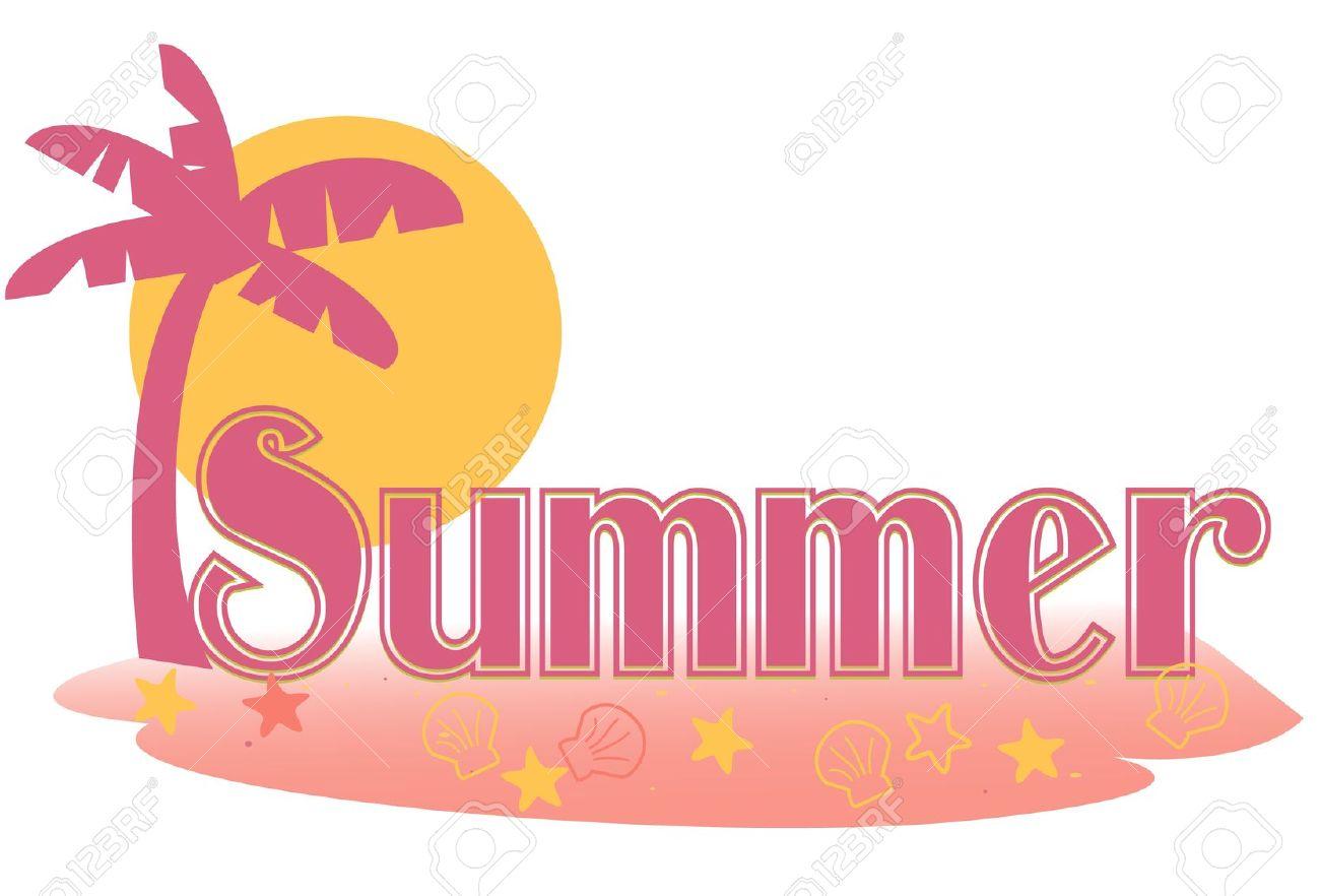 1300x882 Summer Clipart Vector