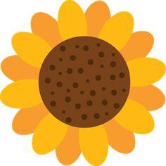236x236 My Free Clip Art Of A Cute Yellow Sunflower Sweet Clip Art