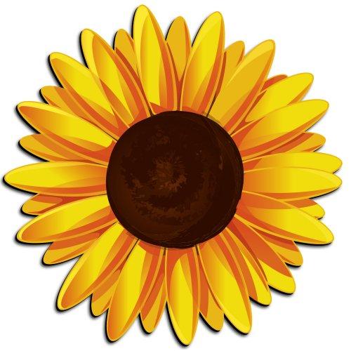500x500 Sunflower Clip Art Free Printable Clipart 2 2