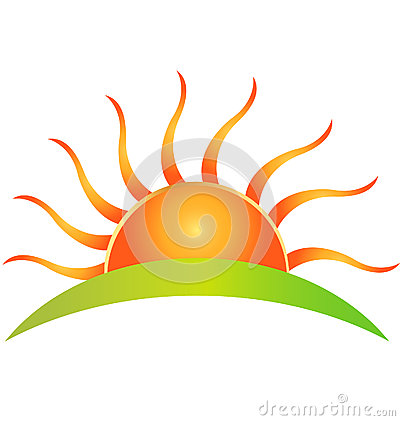 400x421 Sunrise Clipart Corner Sun