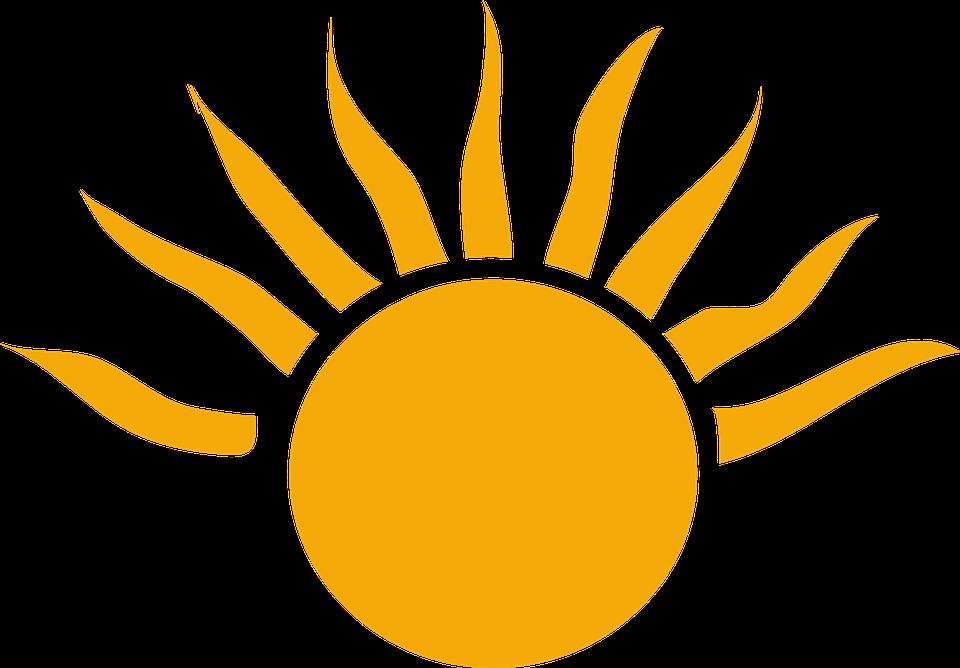 960x668 Best Bright Sun Clipart