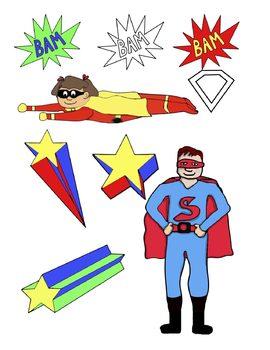 270x350 Superhero Clip Art Free By Teacher Tam Teachers Pay Teachers