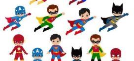 272x125 24 Superhero Boys Digital Clipart Superhero Clip Art Boy On Super
