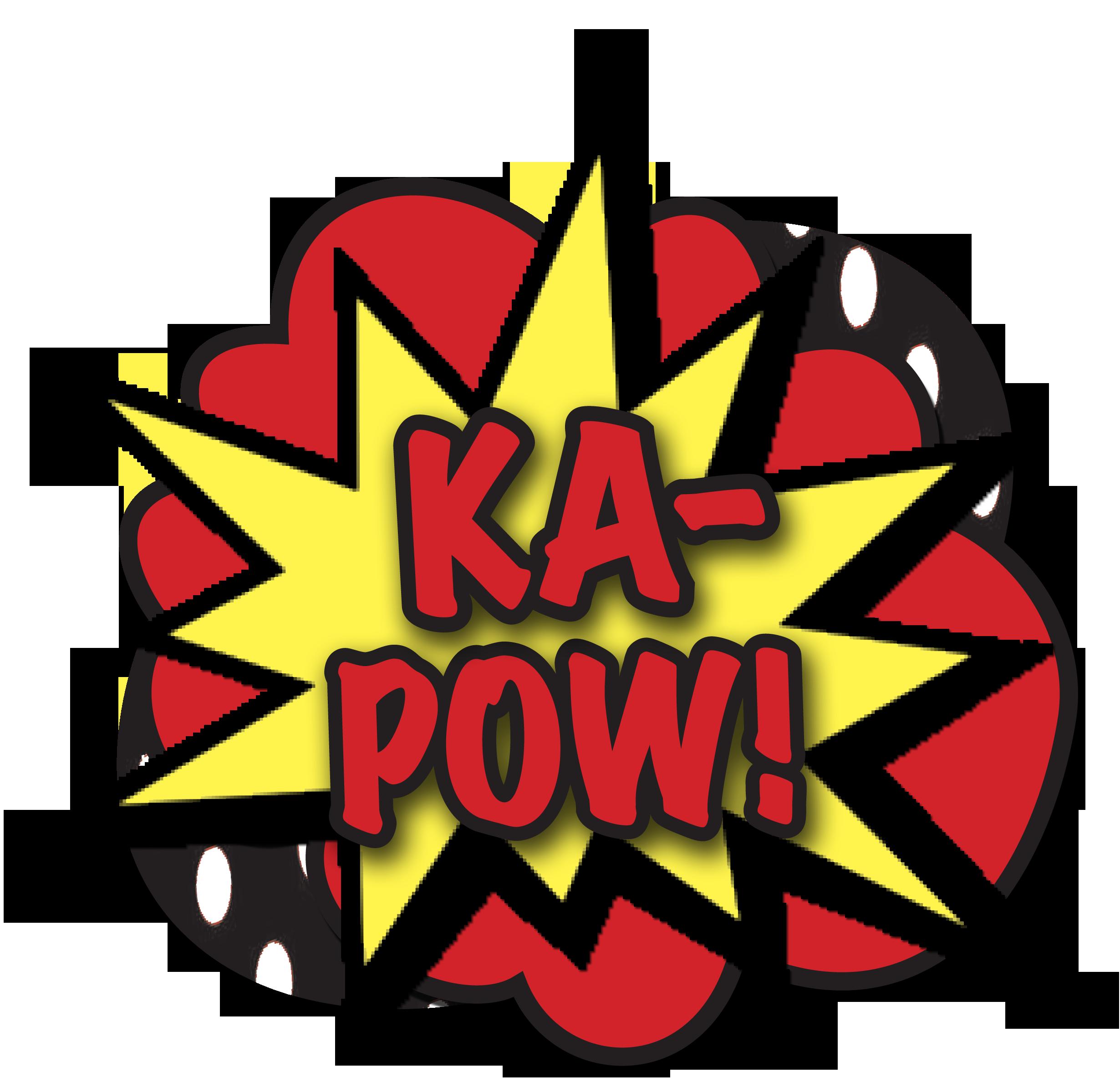 2460x2400 Superhero Pow Clipart